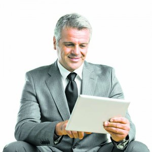 Working with modern tablet