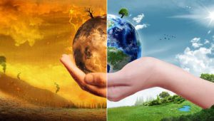 Global Warming and Pollution Concept - Sustainability (Elements
