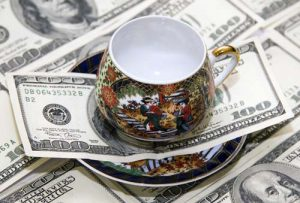 Cup of Coffee and Money