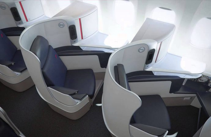 Air France presenta nuevos asientos Business Class