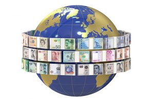 world and money, remittance concept